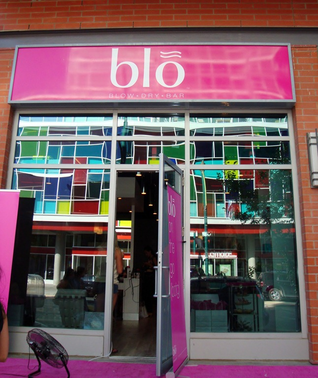 Salon review victoria day to day for Blo hair salon