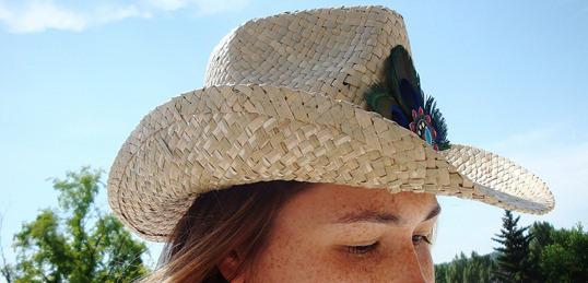 cowboy hat deco diy victoriadaytoday.com