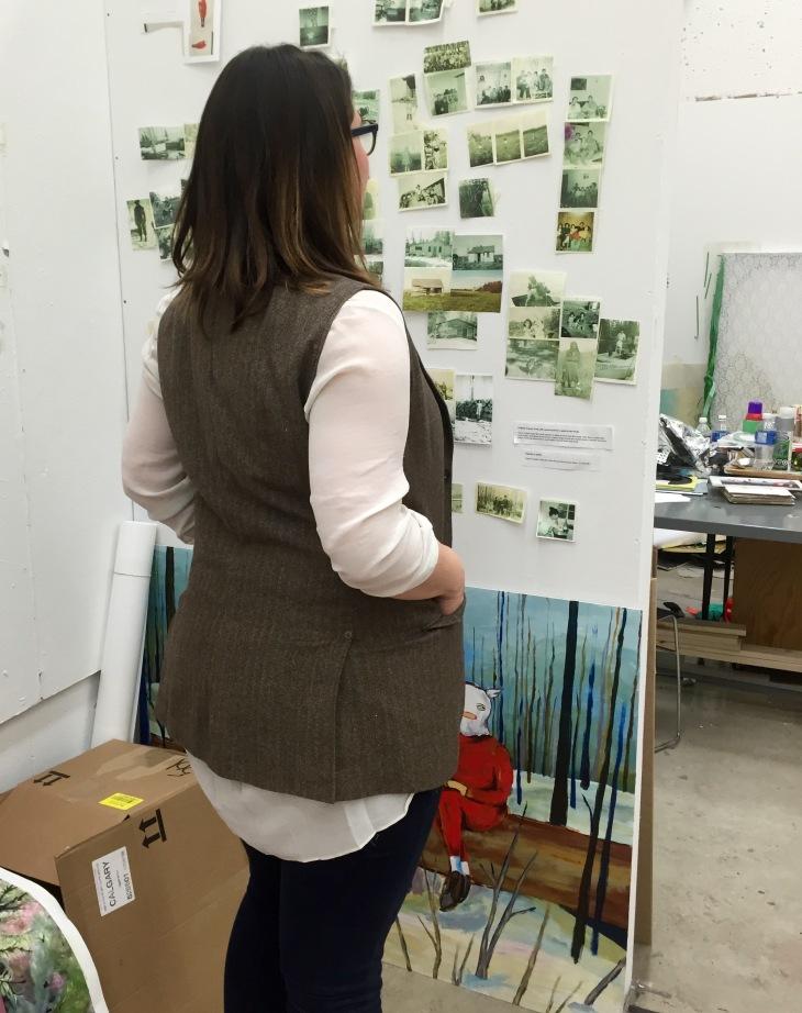 Refashioned menswear vest back