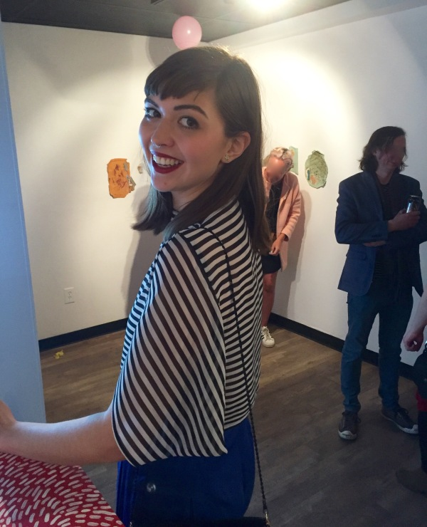 The Halie top at Untitled Art Society.