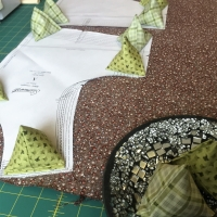 Sewing Pyramid Pattern Weights