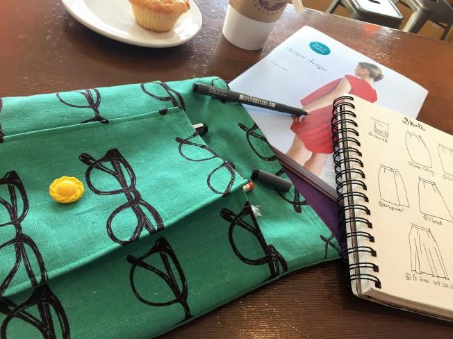 Idea Pouch for on the go creativity - victoriadaytoday.com